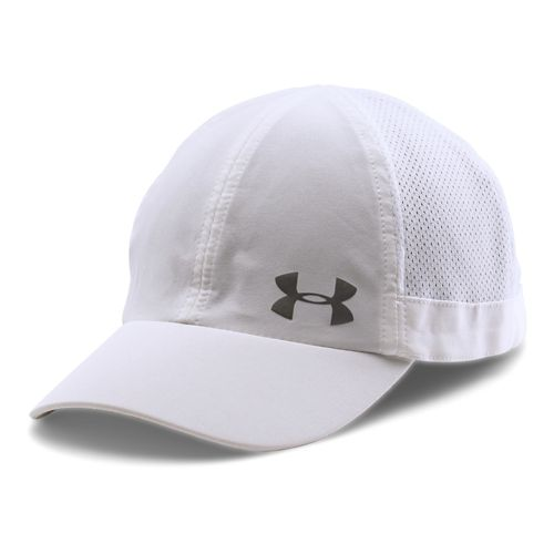 Womens Under Armour Flyfast Cap Headwear - White/Reflective