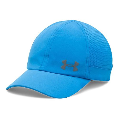 Womens Under Armour Flyfast Cap Headwear - Water