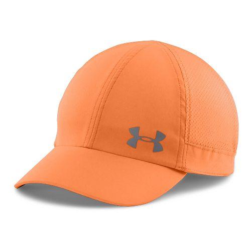 Womens Under Armour Flyfast Cap Headwear - Orange/Reflective