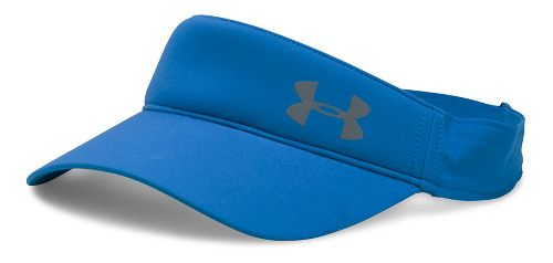 Womens Under Armour Fly Fast Visor Headwear - Mediterranean