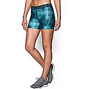 Womens Under Armour Heatgear Armour Compression Printed Shorty Lined Shorts