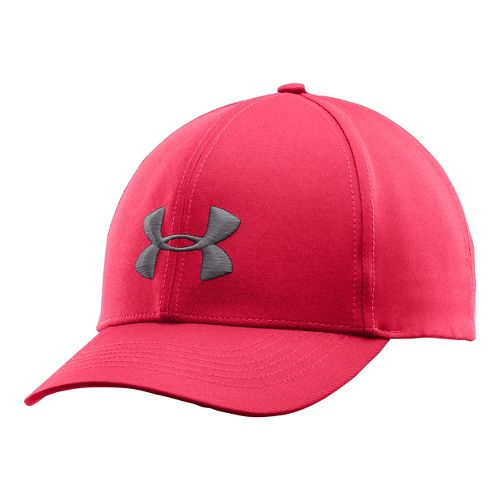 Womens Under Armour Big Logo Cap Headwear - Pink Shock