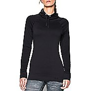 Womens Under Armour Seamless Funnel Neck Long Sleeve No Zip Technical Tops