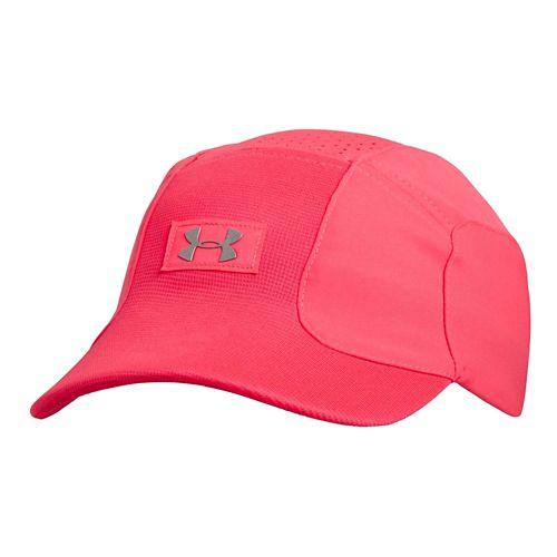 Womens Under Armour Sleek Speed Cap Headwear - Pink Shock