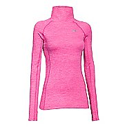 Womens Under Armour Coldgear Cozy Neck Long Sleeve No Zip Technical Tops