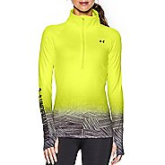 Womens Under Armour Coldgear Sublimated 1/2 Zip Technical Tops