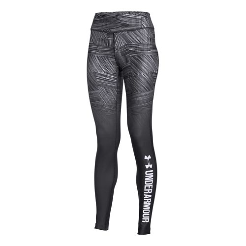 Womens Under Armour Coldgear Sublimated Legging Full Length Tights - Black L