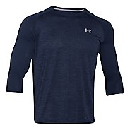 Mens Under Armour Tech 3/4 Sleeve T Long Sleeve No Zip Technical Tops