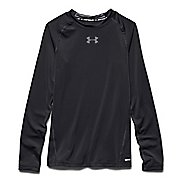 Mens Under Armour HeatGear Fitted Tee Long Sleeve No Zip Technical Tops