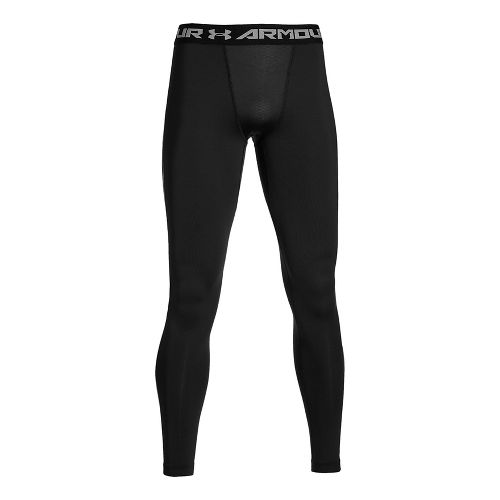 Mens Under Armour Coldgear Armour Compression Legging Full Length Tights - Black 3XL-T