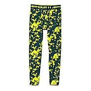 Kids Under Armour HeatGear Fitted Printed Legging Full Length Tights