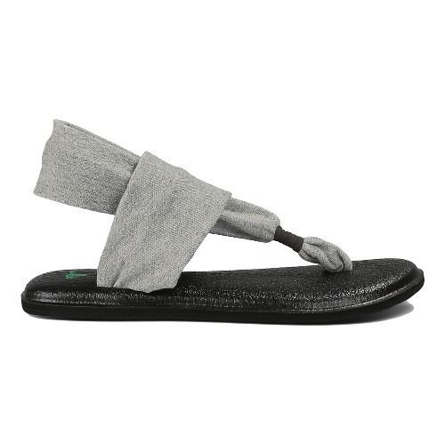 Womens Sanuk Yoga Sling 2 Sandals Shoe - Grey 9