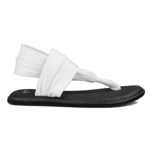 Womens Sanuk Yoga Sling 2 Sandals Shoe - Slate Blue 10