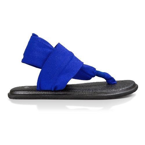 Womens Sanuk Yoga Sling 2 Sandals Shoe - Deep Blue 8