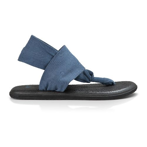 Womens Sanuk Yoga Sling 2 Sandals Shoe - Slate Blue 11