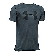 Under Armour Kids Tech Big Logo Novelty T Short Sleeve Technical Tops