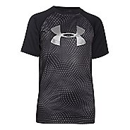 Kids Under Armour Tech Big Logo Novelty Tee Short Sleeve Technical Tops