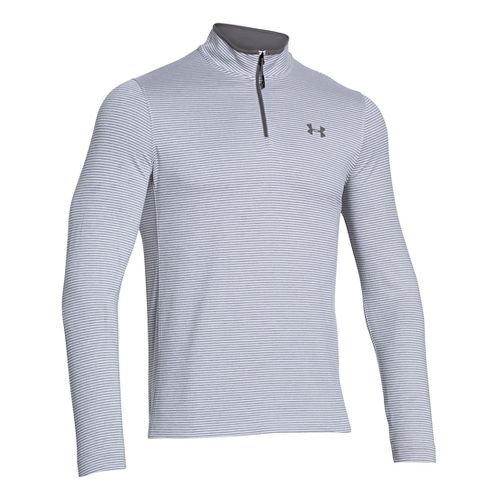 Mens Under Armour Coldgear Infrared 1/4 Zip Long Sleeve Half Zip Technical Tops - ...