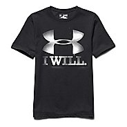 Kids Under Armour Contender Tee Short Sleeve Technical Tops