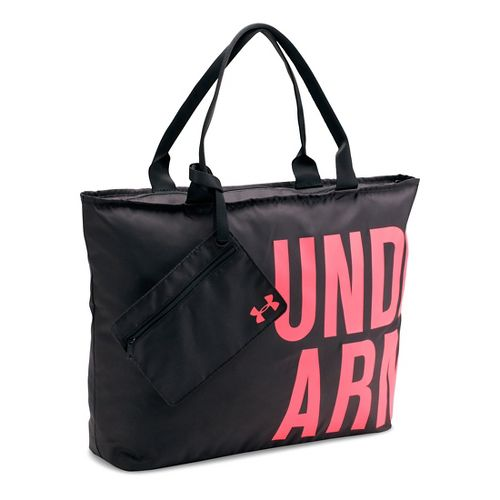 Womens Under Armour Big Word Mark Tote Bags - Black/Brilliance