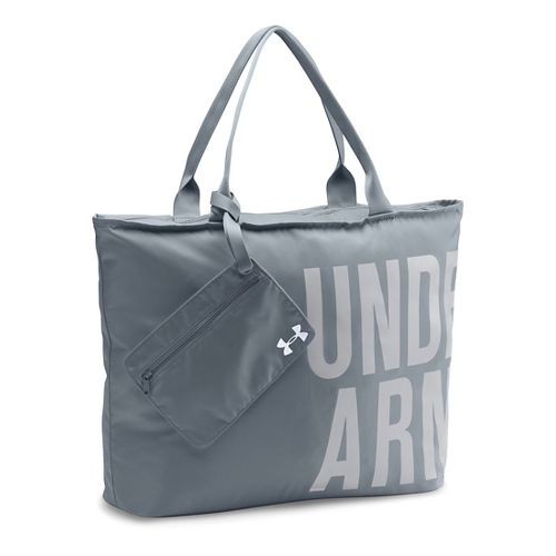 Womens Under Armour Big Word Mark Tote Bags - Steel/Glacier Grey