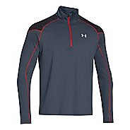 Mens Under Armour Coldgear Infrared Run Long Sleeve 1/2 Zip Technical Tops
