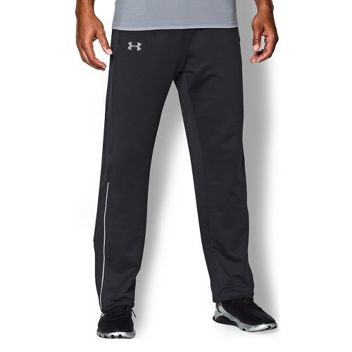 Mens Under Armour Coldgear Infrared Run Pant Full Length Tights - Black XL
