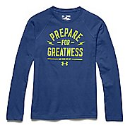 Kids Under Armour Prepare for Great Longsleeve Tee Short Sleeve Technical Tops