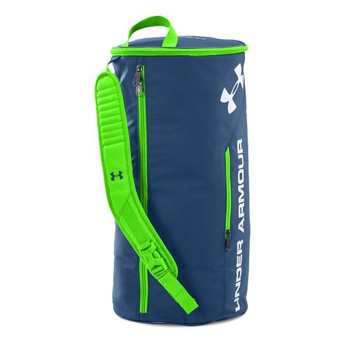 Under Armour Isolate Duffel Bags - Petrol Blue/White