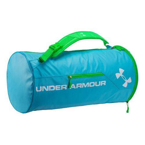 Under Armour Isolate Duffel Bags - Island Blues/Green