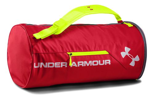 Under Armour Isolate Duffel Bags - Red/Silver