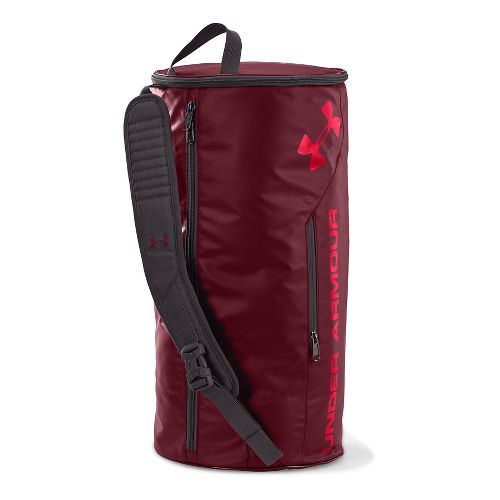 Under Armour Isolate Duffel Bags - Deep Red/Red