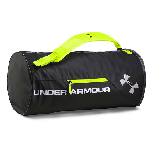 Under Armour Isolate Duffel Bags - Black/High-VisYellow