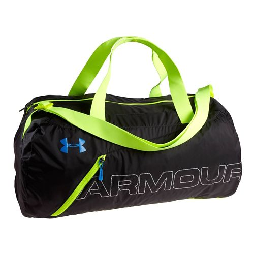 Under Armour Adaptable Duffel Bags - Black/High Vis Yellow