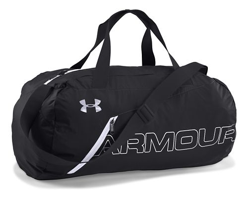 Under Armour Adaptable Duffle Bags - Black/White