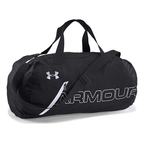 Under Armour Adaptable Duffel Bags - Black/White