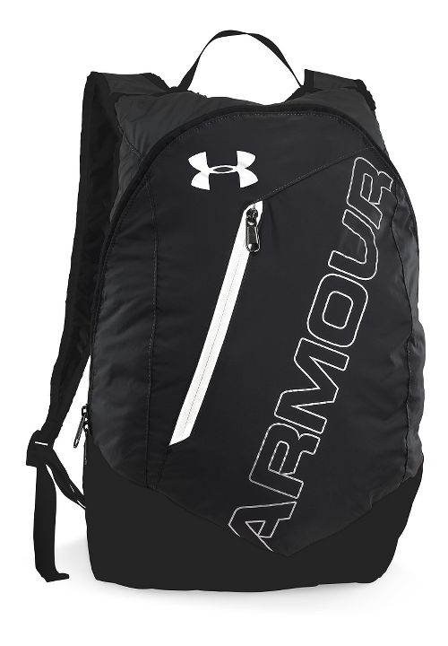 Under Armour Adaptable Backpack Bags - Black/White