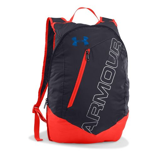 Under Armour Adaptable Backpack Bags - Stealth Grey/Blue