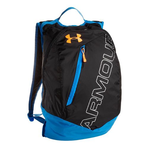 Under Armour Adaptable Backpack Bags - Black/HiVis Yellow