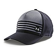 Mens Under Armour Striped Out Stretch Fit Cap Headwear