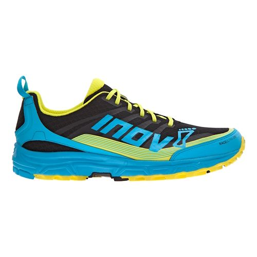 Mens Inov-8 Race Ultra 290 Trail Running Shoe - Black/Blue 11.5