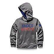 Kids Under Armour Fleece Word Warm Up Hooded Jackets