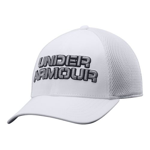 Men's Under Armour�Word Mesh Stretch Fit Cap