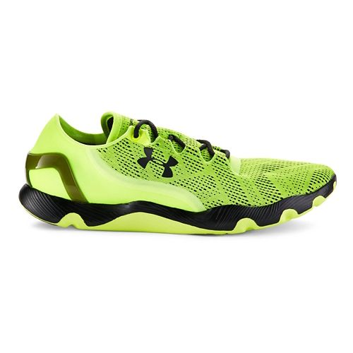Mens Under Armour SpeedForm RC Vent Running Shoe - HighVis Yellow/Black 5