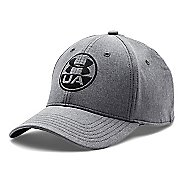 Mens Under Armour Performance Chambray Stretch Fit Cap Headwear