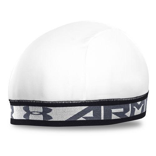 Mens Under Armour Original Skull II Headwear - White/Steel