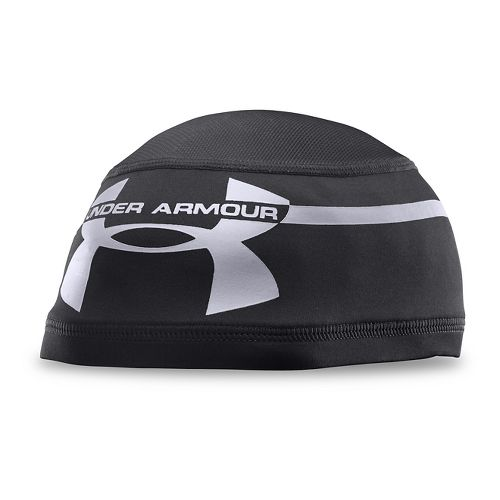 Mens Under Armour Mesh Skull 2.0 Headwear - Black/Black