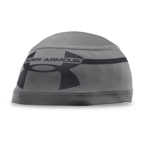 Mens Under Armour Mesh Skull 2.0 Headwear - Graphite/Graphite