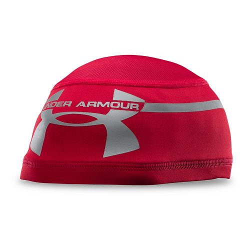 Mens Under Armour Mesh Skull 2.0 Headwear - Red/Red