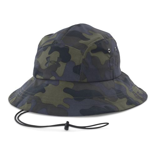 Mens Under Armour Toughest Bucket Hat Headwear - Rough/Tan Stone
